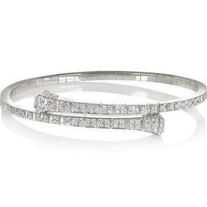 5 carats Beautiful round diamond tennis bracelet w